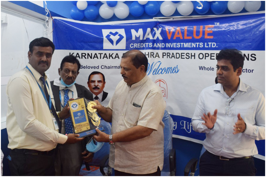Honorable Chairman and Director visiting newly opened Madanapalle (Andhra Pradesh) Branch