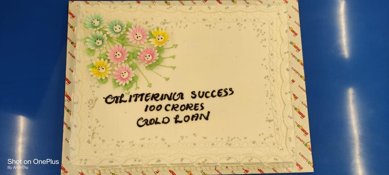 Gold Loan 100 Cr. Celebrations